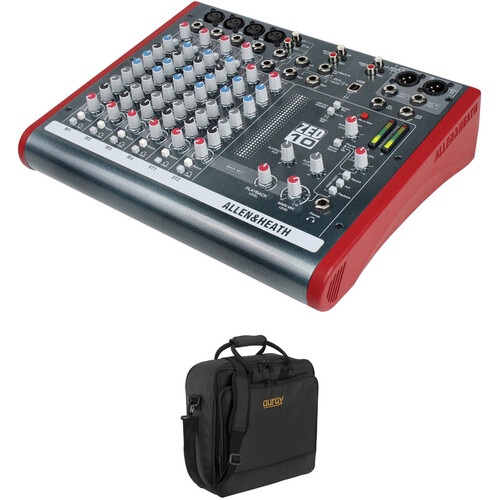 Allen & Heath ZED-10 Multipurpose Mini Mixer and Bag Kit