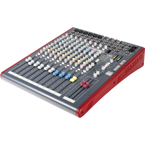 Allen & Heath ZED-12FX - 12-Channel Recording Mixer with USB Connection and Effects