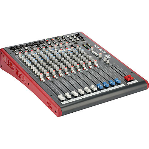 Allen & Heath ZED-14 Compact 14-Channel Analog Mixer with USB Connection