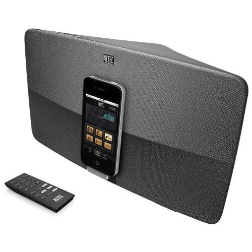 Altec Lansing M650 Speaker System with iPhone / iPod Dock (Slate Silver)