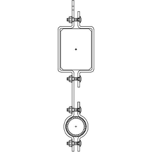 Altman 450-Type-16 Single Pipe In-line Bracket