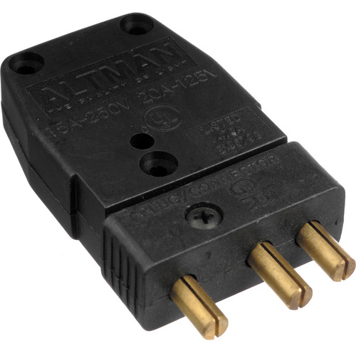 Altman Male Stage Pin Connector - 20 Amps