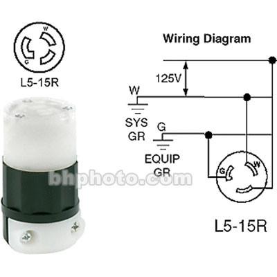 Altman Twist-Lock (LR5-15R) Connector, Female - 15 Amps