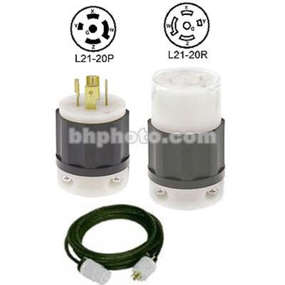 Altman Extension Cable - Twist-Lock - 75' - 20 Amps