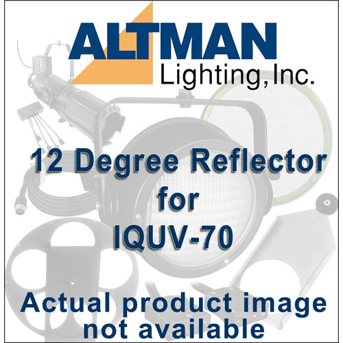 Altman Reflector for IQUV-70 Blacklight - 12 Degrees