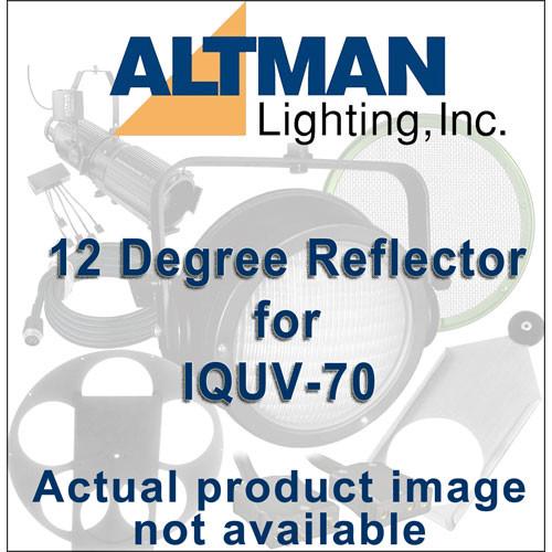 Altman Reflector for IQUV-70 Blacklight - 12 Degrees