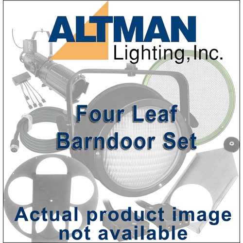 Altman Four Leaf Barndoor Set for IQUV-70, White