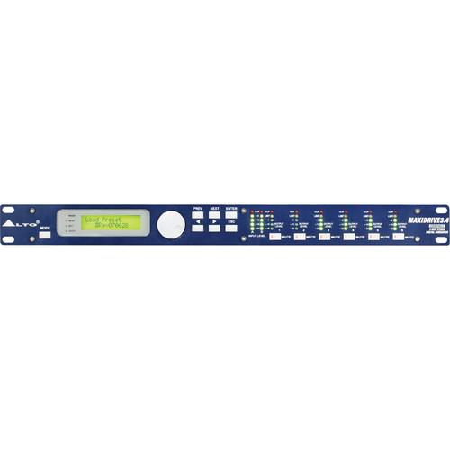 Alto MAXIDRIVE 3.4 - 3-Way Stereo, 6-Way Mono Digital Crossover (No PC Control)