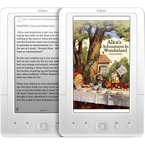 Aluratek AEBK07FS Libre I Color eBook Reader with 2GB Built-in Memory