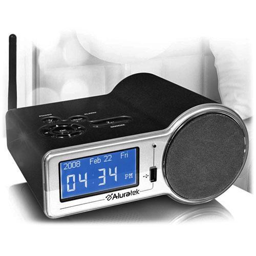 Aluratek AIRMM01F Internet Radio Alarm Clock with Built-in WiFi