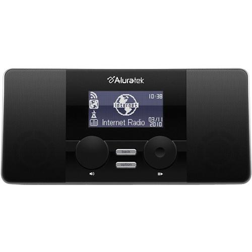 Aluratek AIRMM02F Internet Radio Alarm Clock With Built-in Wi-Fi