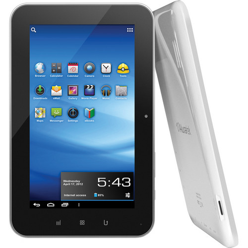"Aluratek 4GB Cinepad 7"" Capacitive Tablet with Android 4.0"