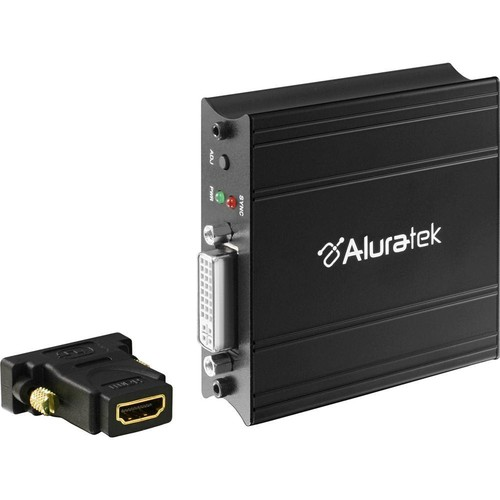 Aluratek AVH100F VGA to HDMI Adapter with Audio