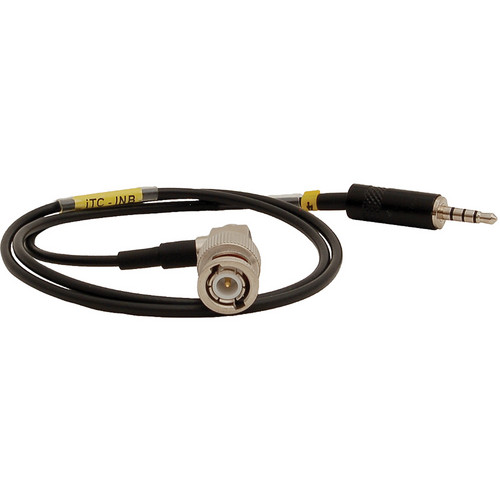 Ambient Recording ITC-INB Line Level BNC Input Cable for TC App for iPod/ iPhone/ iPad