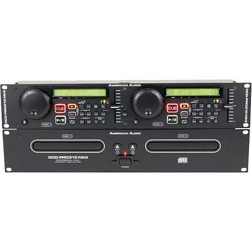 American Audio DCD-PRO310 MKII Dual CD Player