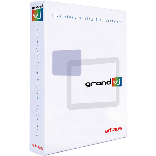 American Audio GRAND VJ Real Time Video Mixing Software