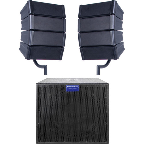 American Audio MRAY 4 System Array Style Speaker System