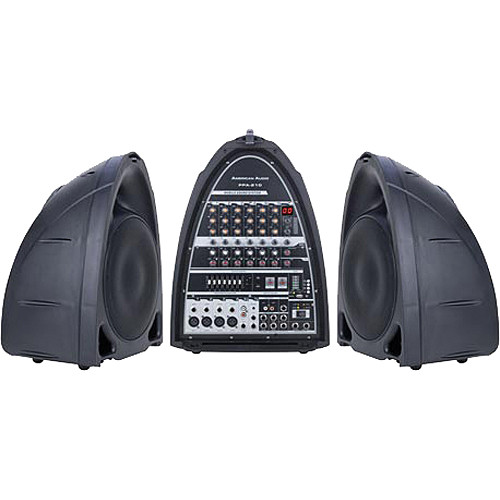 American Audio PPA-210 Portable Sound System
