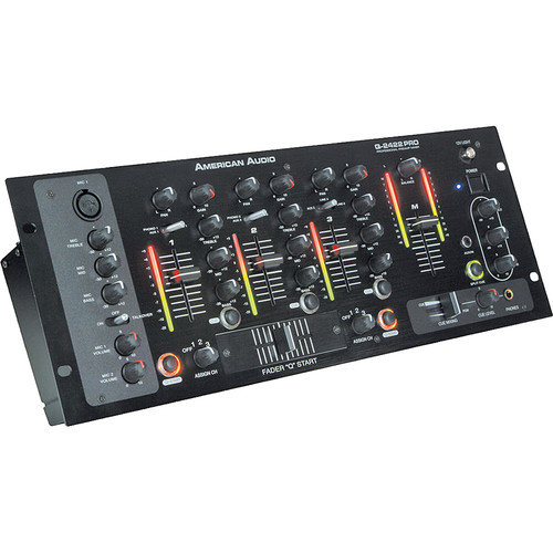 American Audio Q-2422 Pro 3-Channel DJ Mixer