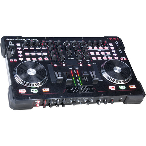 American Audio VMS4T Traktor Table Top MIDI Controller/Soundcard