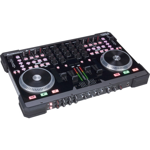 American Audio VMS4 Velocity MIDI Station DJ Controller and Mixer