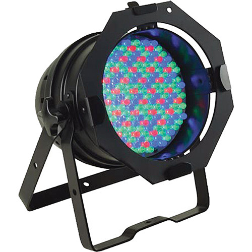 American DJ 64 LED Pro PAR Can--Black (120VAC)