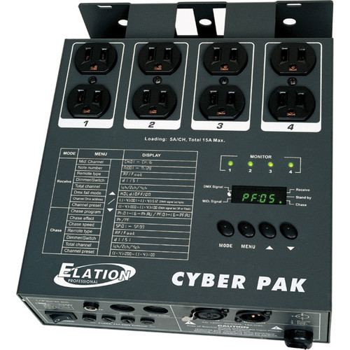 American DJ Cyber Pak 3-in-1 DMX Lighting Controller
