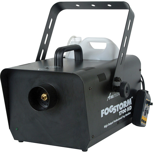 american dj fog 1700hd fog machine