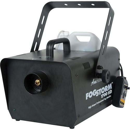 American DJ Fog Storm 1700HD Fog Machine (120VAC)