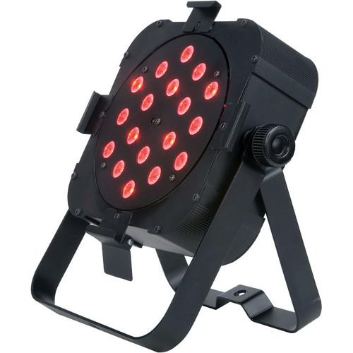 American DJ FLAT PAR TRI18 Low-profile LED PAR Can Effects Light