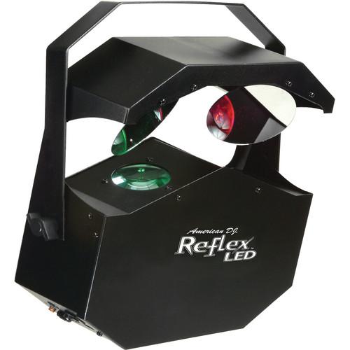 American DJ Reflex LED Dual Mirrored Moonflower (115VAC)
