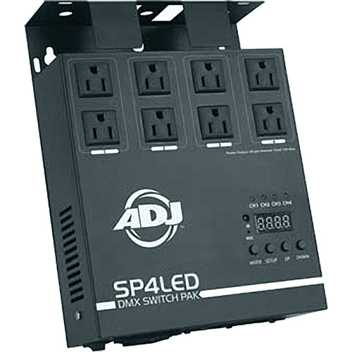 American DJ SP4LED 4-Channel DMX Switch Pack