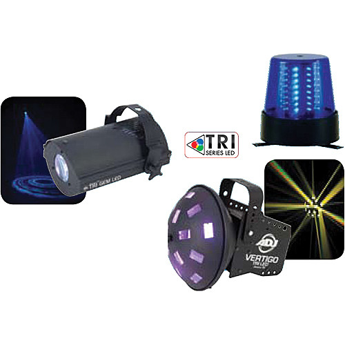 American DJ Tri LED Party Pak 2