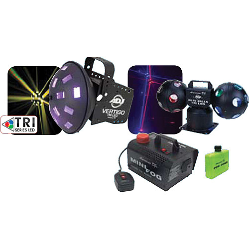 American DJ Tri LED Party Pak 4