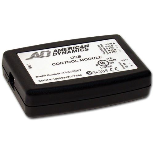 American Dynamics SensorNet USB Control Module w/Install Kit & USB Cable
