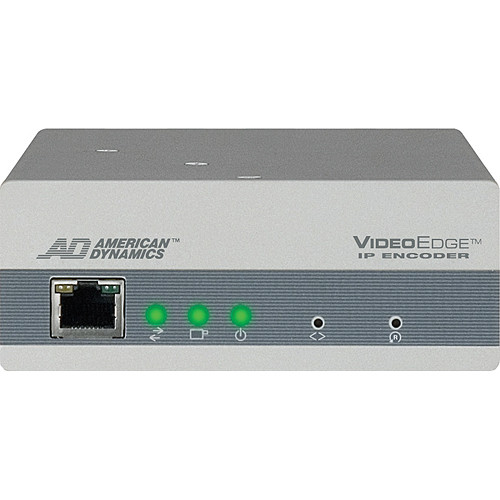American Dynamics VideoEdge 4-CH IP Encoder w/Power over Ethernet