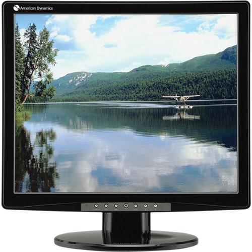 "American Dynamics 19"" LCD Flat Panel Monitor"