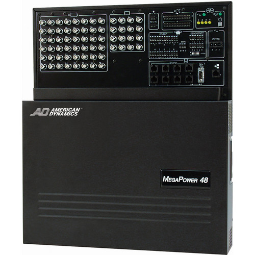 American Dynamics MegaPower 48 Plus Matrix Switcher/Controller System