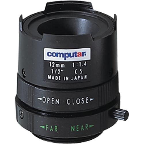 "American Dynamics L1214CS 1/2"" CS Mount 12mm f/1.4 Manual Iris Lens"