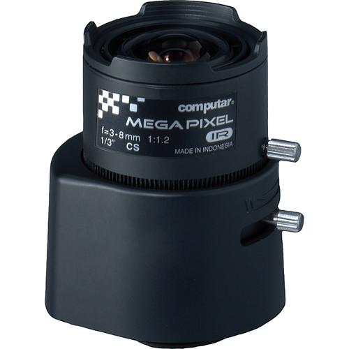 "American Dynamics LIRC0308CS 1/3"" CS Mount 3-8mm f/1.0 DC Auto Iris IR Lens"
