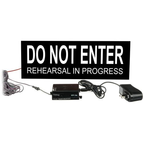 American Recorder Do Not Enter Sign