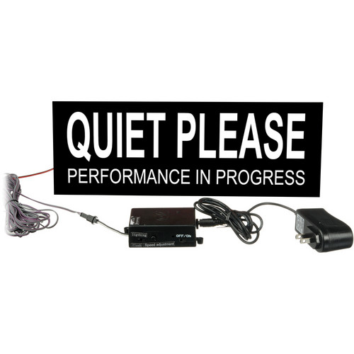 American Recorder Quiet Please Sign