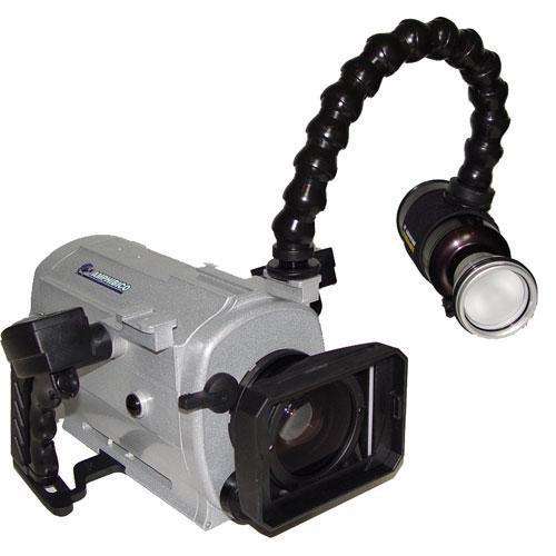 Amphibico Dive Buddy EVO HD Elite Housing w/ 10W HID Light for Sony HDR-XR200V