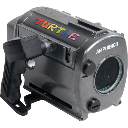 Amphibico Turtle Underwater Video Housing for Sony HDR-CX110 / XR150 HD Camcorder (Gray)