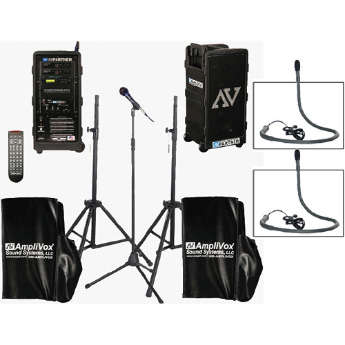 AmpliVox Sound Systems B9154 Platinum Digital Audio Travel Partner Package
