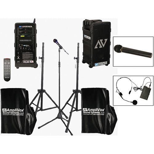 AmpliVox Sound Systems B9154-HHHS Platinum Digital Audio Travel Partner Package