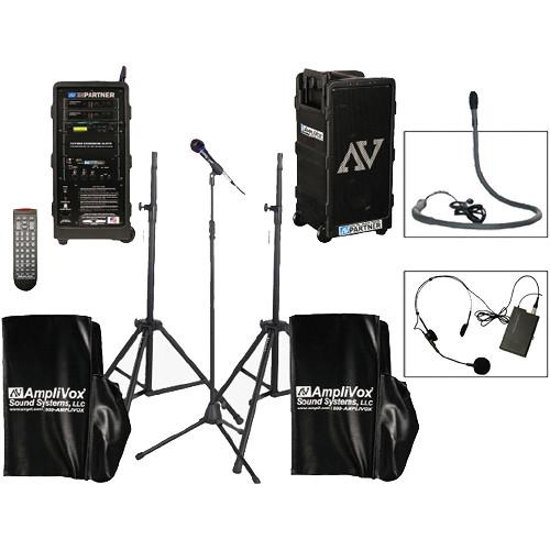 AmpliVox Sound Systems B9154-HSC Platinum Digital Audio Travel Partner Package