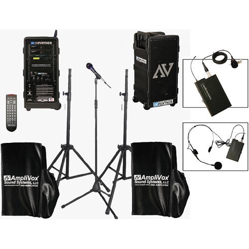 AmpliVox Sound Systems B9154-HSL Platinum Digital Audio Travel Partner Package