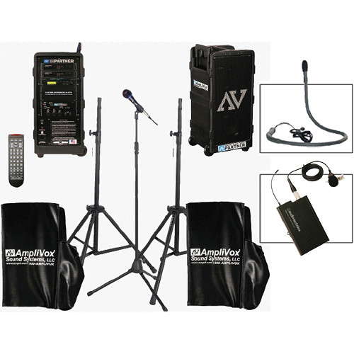AmpliVox Sound Systems B9154-LC Platinum Digital Audio Travel Partner Package