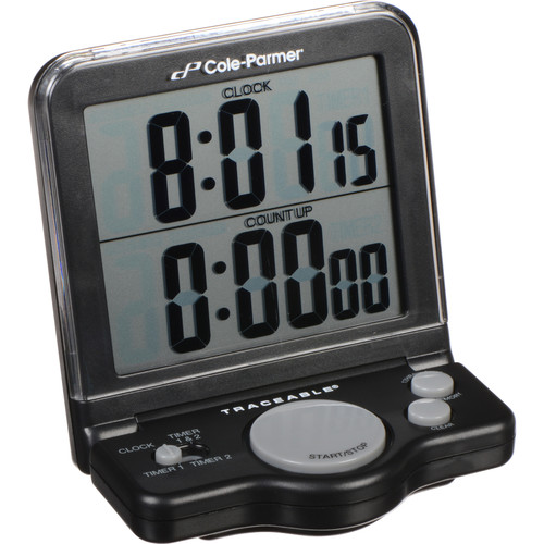 AmpliVox Sound Systems S1320 Clock Timer with Electronic Display